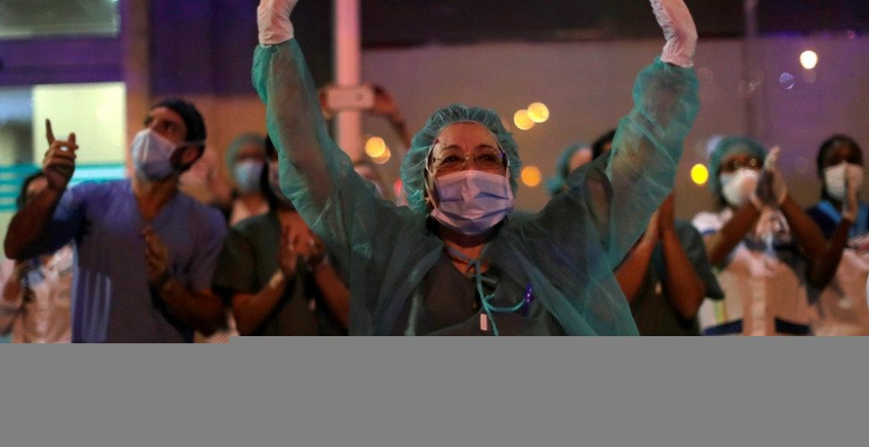 Ισπανοί γιατροί: Η κρίση του κορωνοϊού είναι ο πόλεμος της γενιάς μας