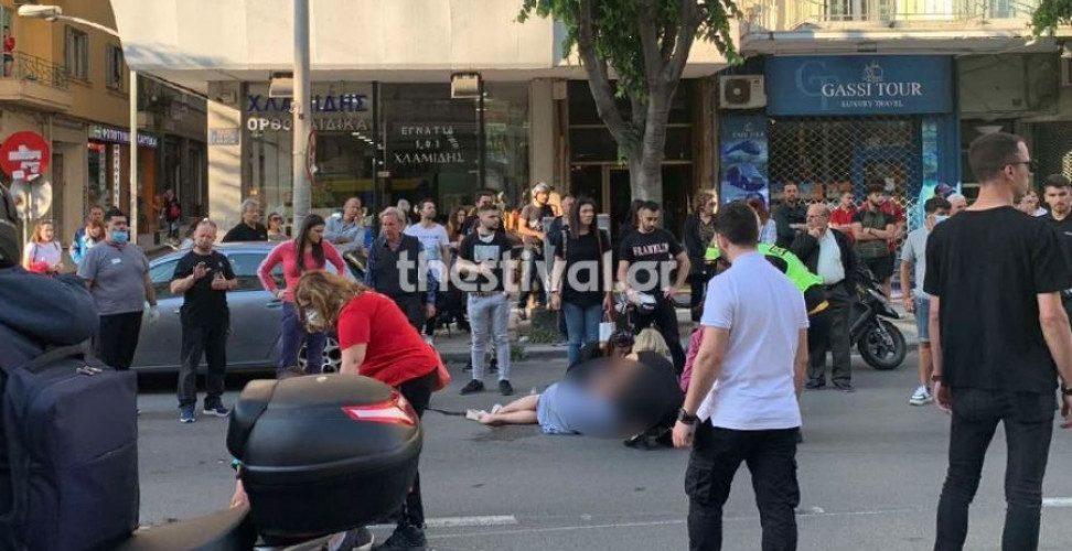 Θεσσαλονίκη: Ασυνείδητος οδηγός παρέσυρε μοτοσικλέτα και εγκατέλειψε τους αναβάτες